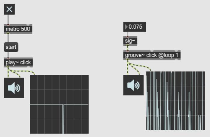 【Max 8】クリックノイズの作り方
