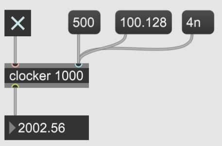 【Max】経過時間をtimerとclockerで測る