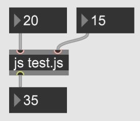 【Max】jsオブジェクトでJavaScriptを使う
